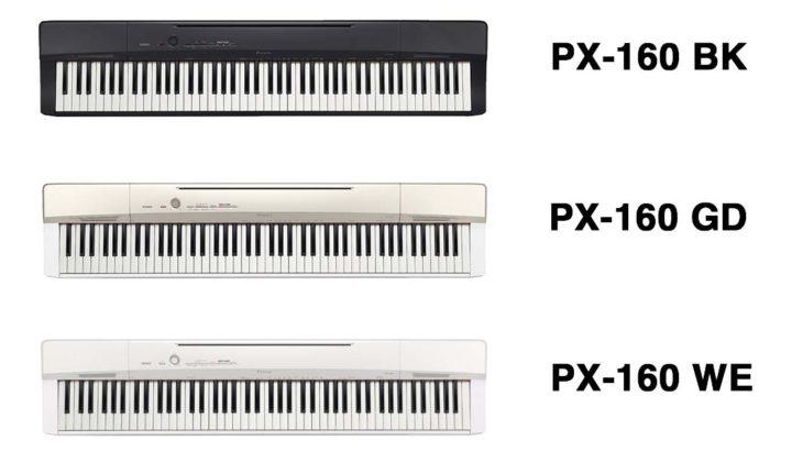 Casio PX-160 Colors