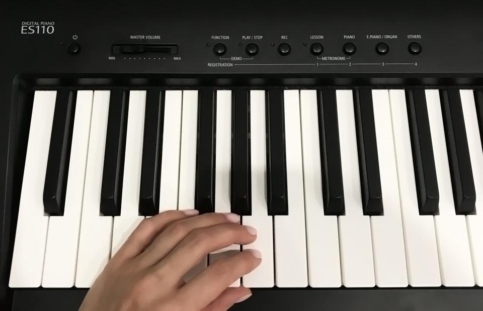 Kawai ES110 keyboard