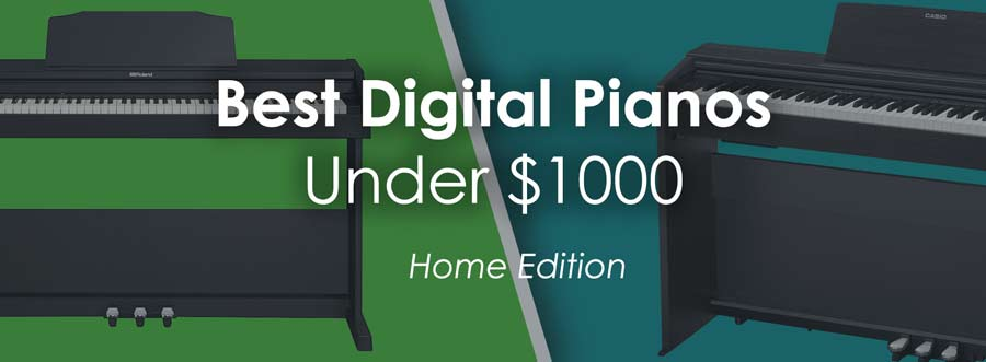 Audio Interface Christmas 2020 Under 1000 Best Digital Pianos Under $1,000 for Home Use (Jul. 2020)