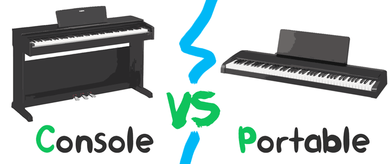 Portable vs Console Digital Piano