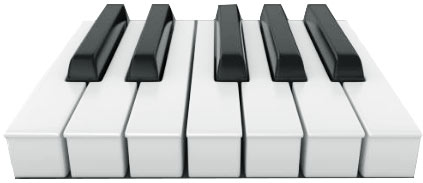 blocked-end semi-weighted keys