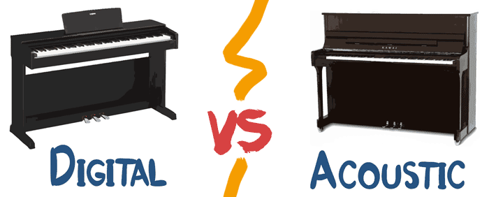 digital vs acoustic piano