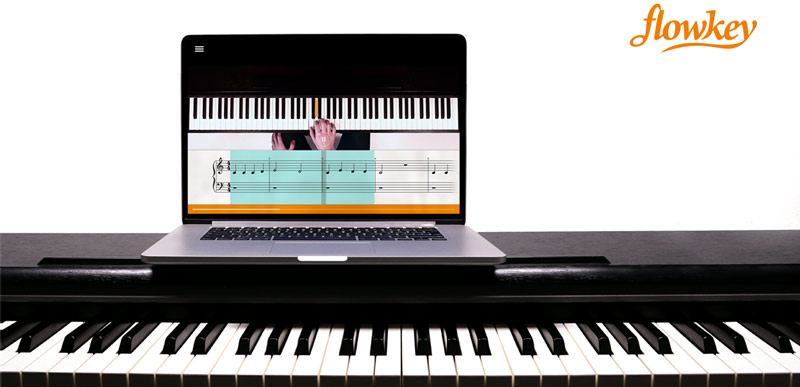 flowkey piano teaching app
