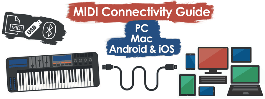 digital piano midi connection guide