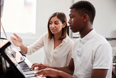 piano teacher method