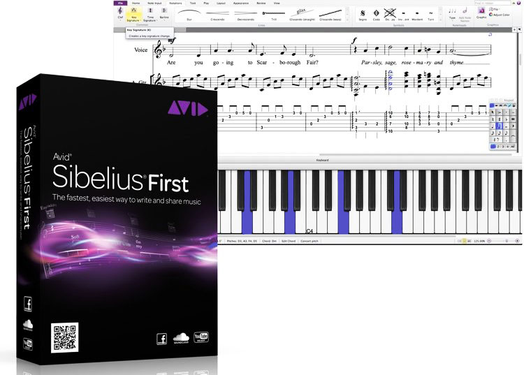 avid sibelius software
