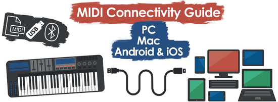 MIDI Connectivity Guide: For PC, Mac, iOS & Android Devices