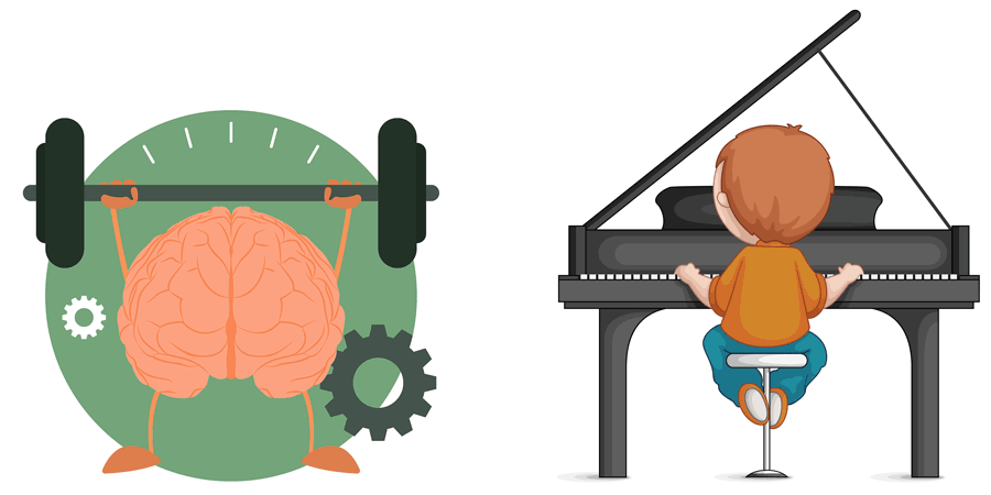 Playing Piano Brain Benefits