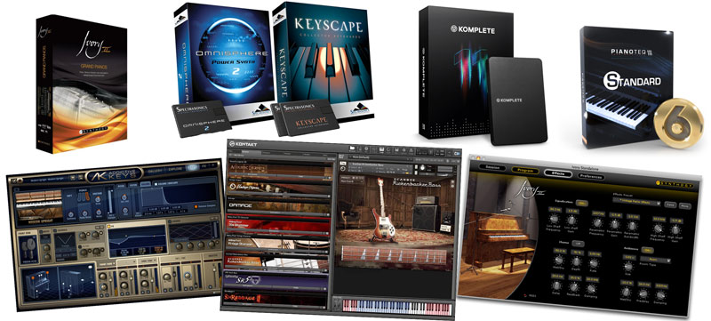 VST instrument libraries