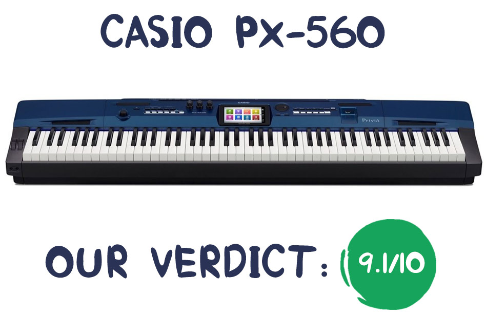 Casio PX-560 Review Summary
