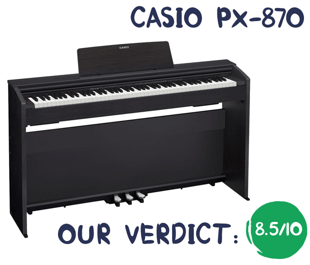 Casio Privia PX-870 Review Summary