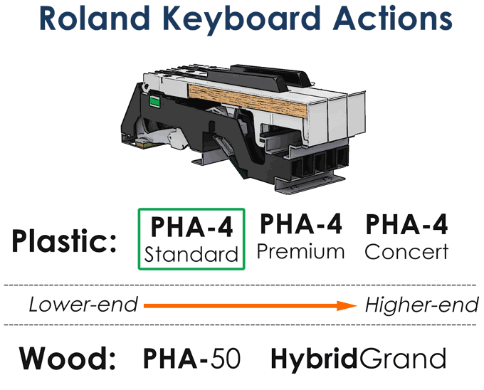 Roland Hammer Key Actions