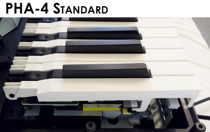 Roland PHA-4 Standard key action