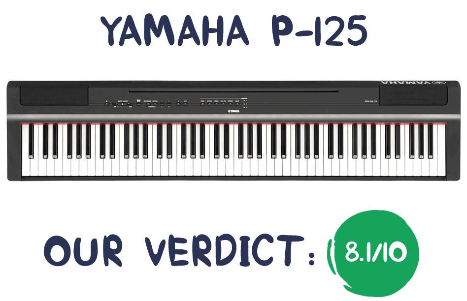 Yamaha P125 Review Summary