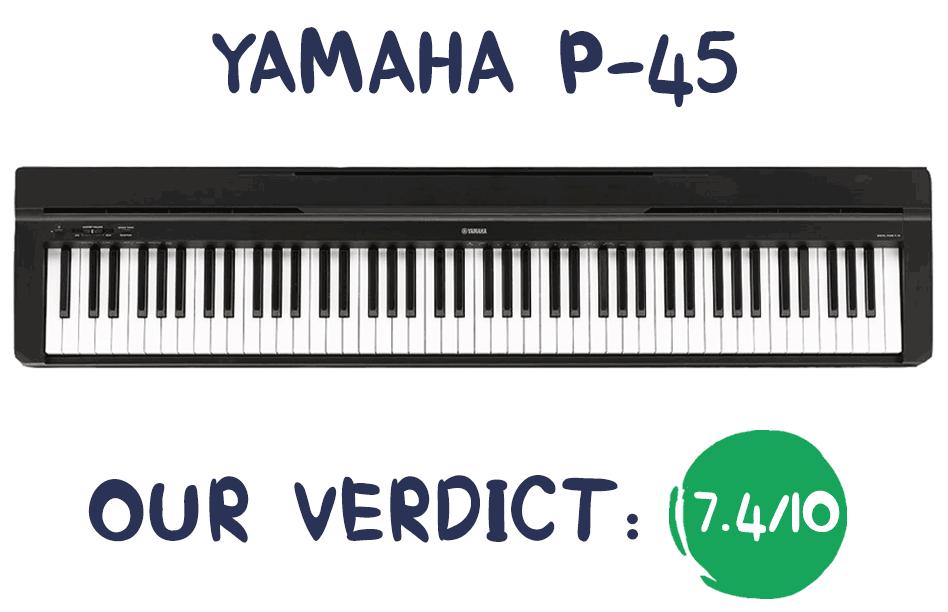 Yamaha P-45 Review Summary