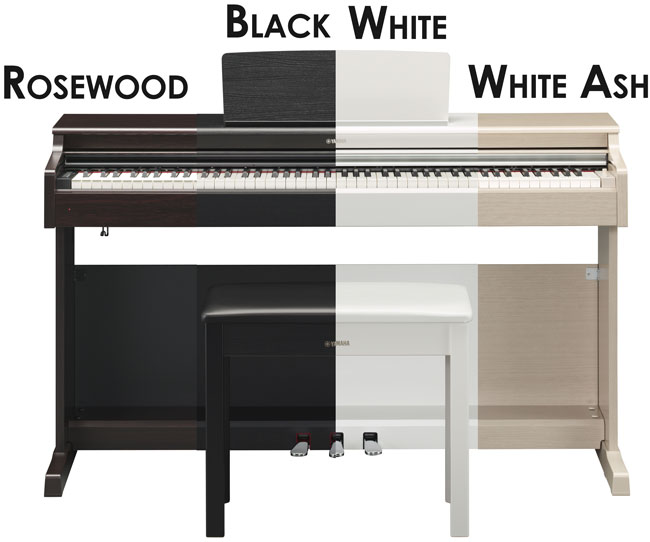 Yamaha YDP-164 Colors Finishes
