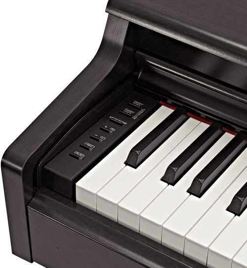 Yamaha YDP-164 controls