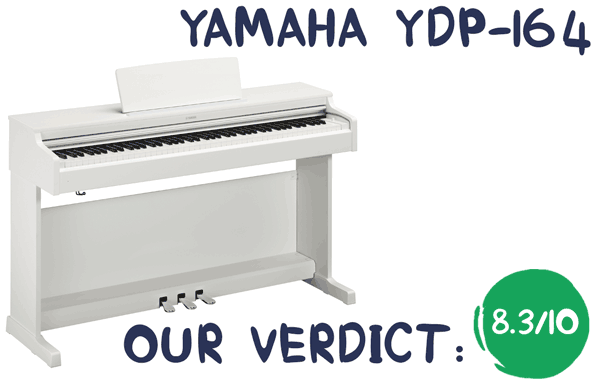 Yamaha YDP164 Review