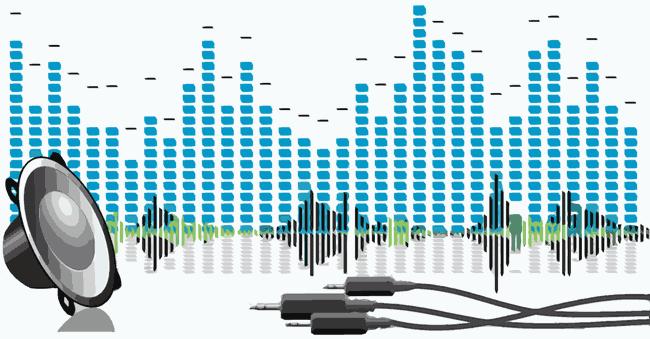 Audio Signal Sound Waves