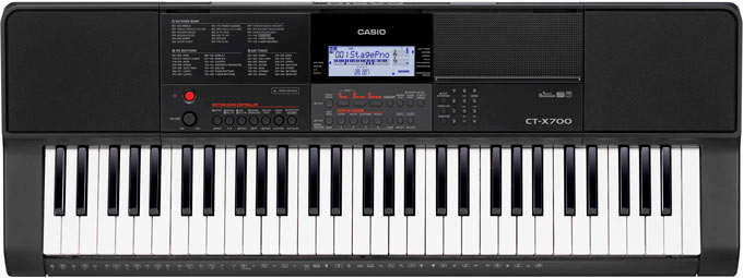 Yamaha PSR-E373 vs Casio CTX-700