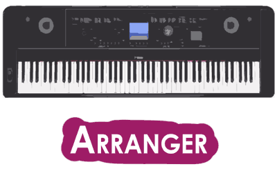 arranger digital pianos