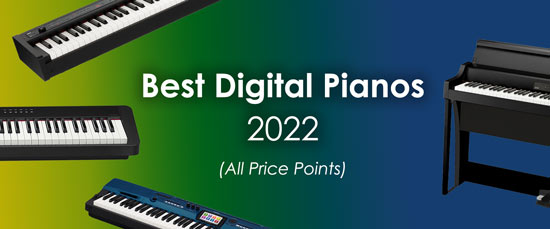 Best Digital Pianos & Keyboards (All Price Points)