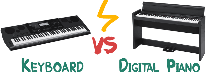 keyboard vs digital piano