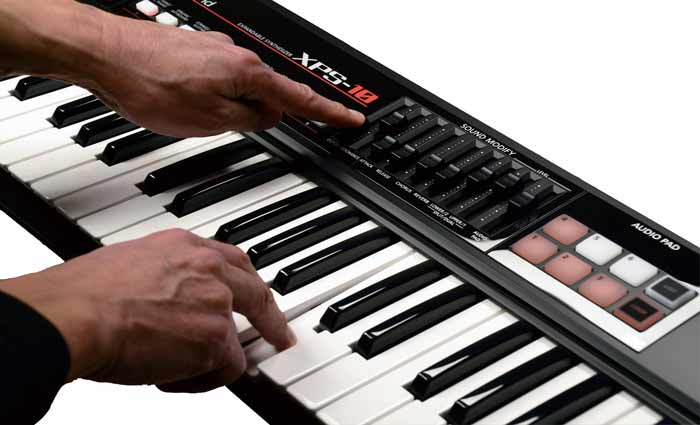 MIDI keyboard performance