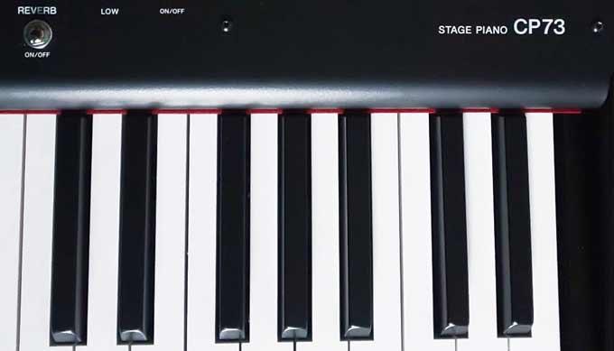 Yamaha CP73 keys