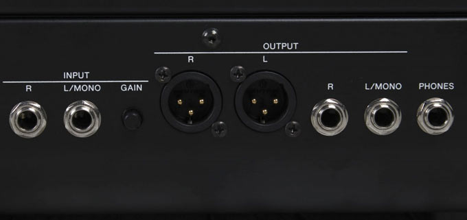 Yamaha CP88 CP73 audio outs