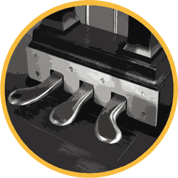 digital piano pedals