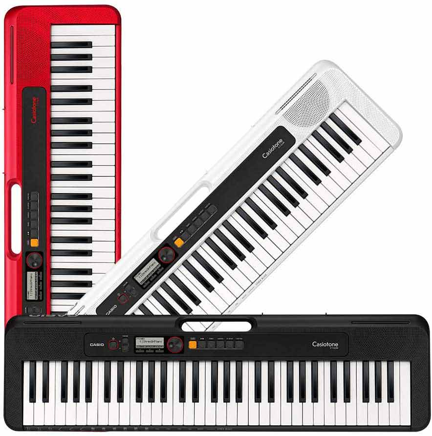 Casio Casiotone CT-S200 color options