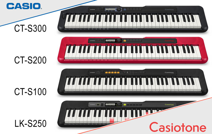 Casio Casiotone models 2019