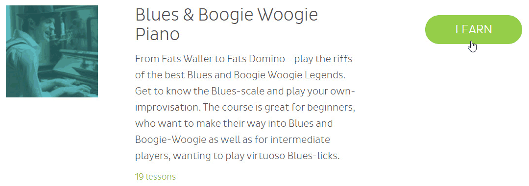 Skoove blues and boogie woogie