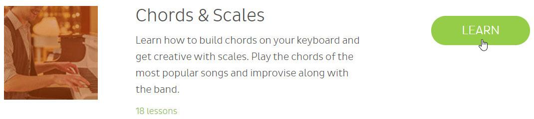 Skoove chord scales