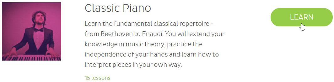 Skoove classic piano