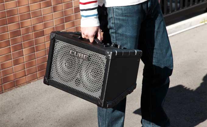 Keyboard amp portability