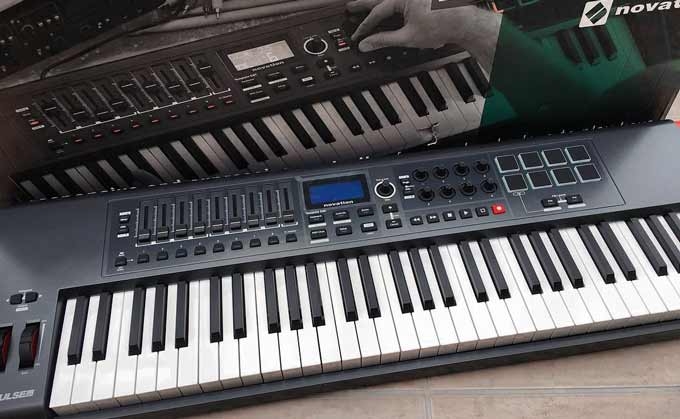 Novation Impulse keyboard