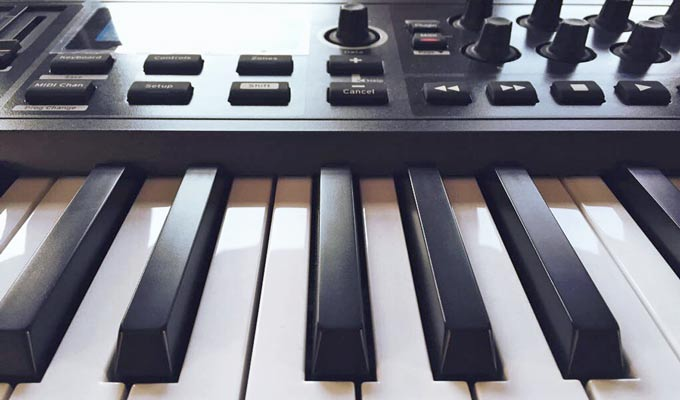 Novation Impulse keys