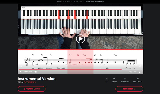 Pianote Song Tutorial