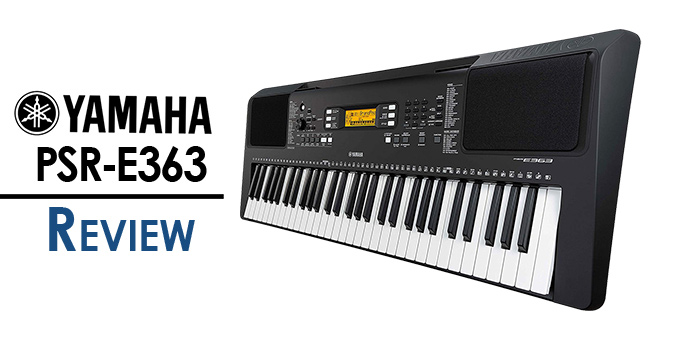 Yamaha PSR-E363 PSR-EW300 Review