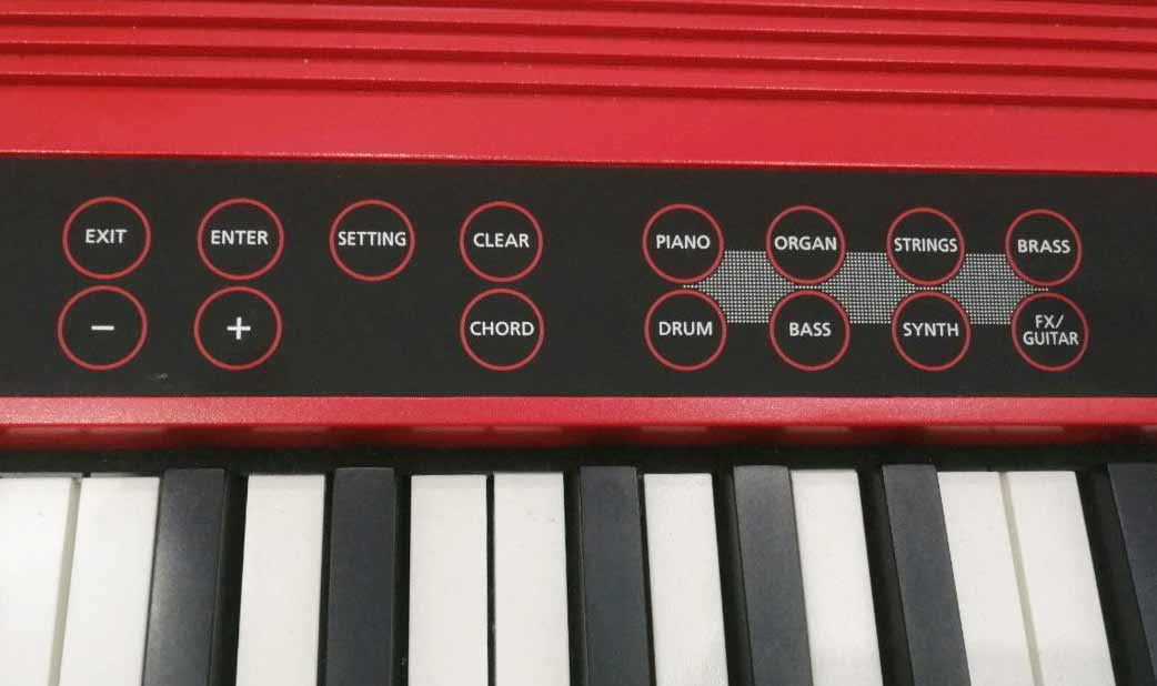 Roland GO:Keys sound banks