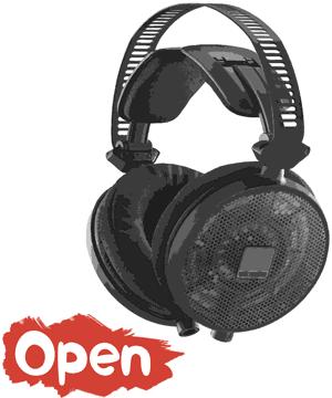 Open-back headphone design