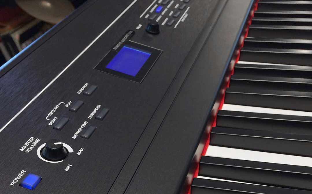 Alesis Recital Pro front panel