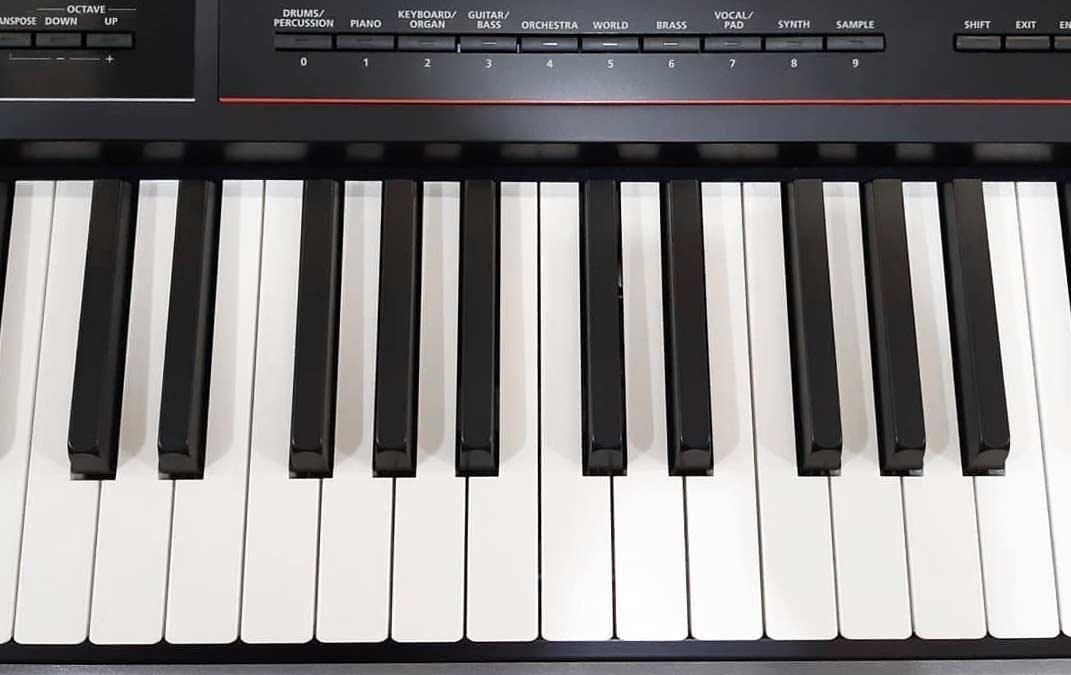 Roland JUNO-DS88 keys