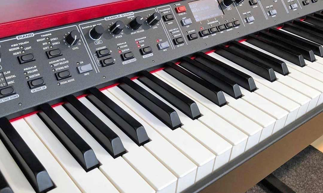 Nord Grand Front Panel