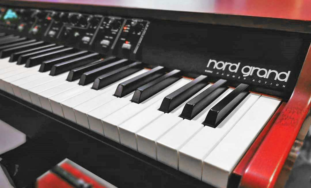 Nord Grand Keyboard Side View