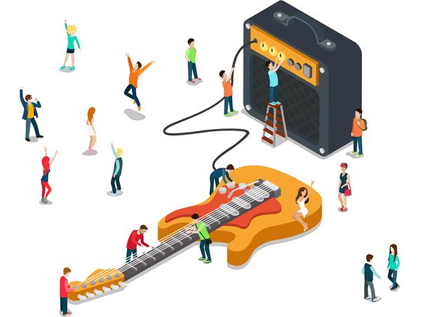 Guitar vs Amp