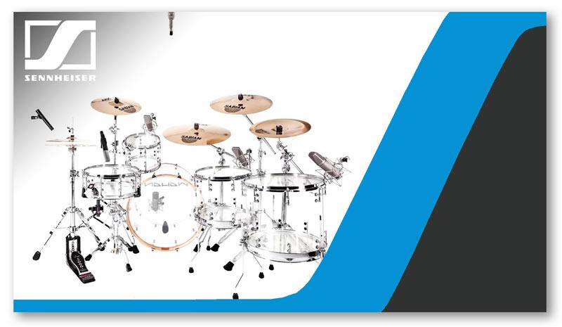 Sennheise DrumMic'a Drums