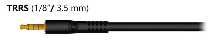 1/8 TRRS Cable